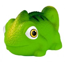 badkameleon lichtgevend 7,5 cm groen