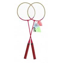 badmintonset rood 5-delig