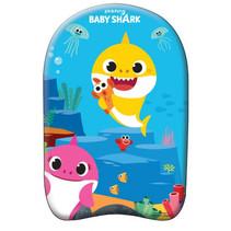 bodyboard Baby Shark junior 45 x 29 cm foam blauw