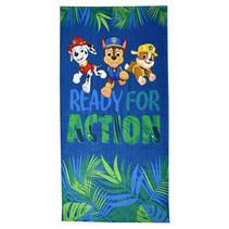 strandlaken Paw Patrol jongens 140 cm katoen blauw