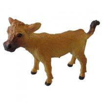 boerderijdier Kalf junior 8,25 cm lichtbruin