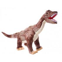 dinosaurus T-Rex jongens 68 cm pluche bruin