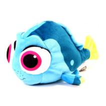 knuffel Dory 16 x 7,5 x 8 cm pluche blauw