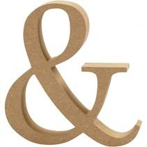 houten symbool & 8 cm