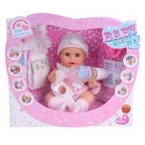 babypop Baby Susu meisjes 38 cm vinyl roze