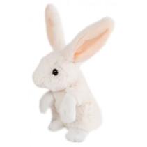 knuffel konijn junior 16 cm pluche wit
