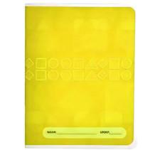 schrift A5 6-3-6-lijnen papier geel