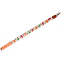 potlood rekentafels junior 19 cm hout oranje