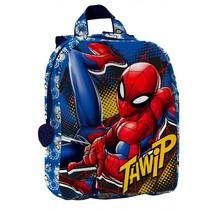 rugzak Spiderman junior 22 x 27 x 8,5 cm polyester