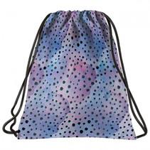 gymtas meisjes 12 liter 43 cm polyester blauw/roze