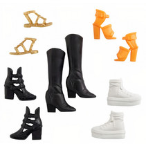 schoenen tienerpoppen meisjes 5 paar