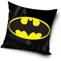 kussen Batman jongens 40 cm polyester zwart