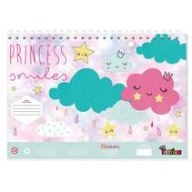 schetsblok Princess junior 23 x 33 cm papier roze