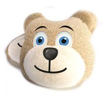 kussen Bear 40 cm polyesterlichtbruin