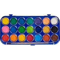 waterverf set junior 21 kleuren 2-delig