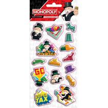 stickers puffy junior 10 x 22 cm vinyl 15-delig