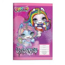notitieboek Unicorn meisjes 17 x 24 cm papier paars
