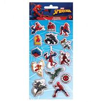 stickers Spiderman jongens 10 x 22 cm papier 14-delig