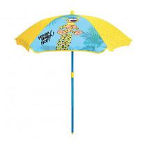 parasol Fun House 100 cm blauw/geel