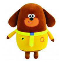 knuffel Hondenvacht 20 cm pluche geel/bruin