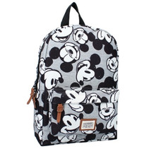 rugzak Mickey Mouse Never Look Back 6,8 liter grijs