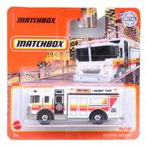 vrachtwagen Hazard Squad 1:64 staal wit/oranje/rood