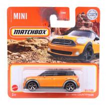auto 2011 Mini Countryman 1:64 staal oranje