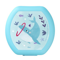 lunchbox Whale junior 500 ml polypropyleen blauw