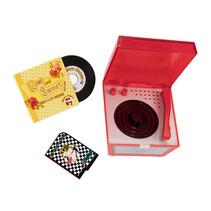 pop-accessoires Vintage Vinyl rood 4-delig