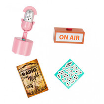 pop-accessoires Retro Radio Station 9-delig