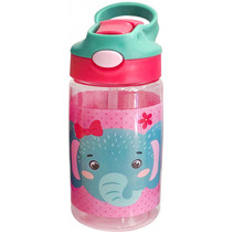drinkfles junior 500 ml tritan roze/mintgroen