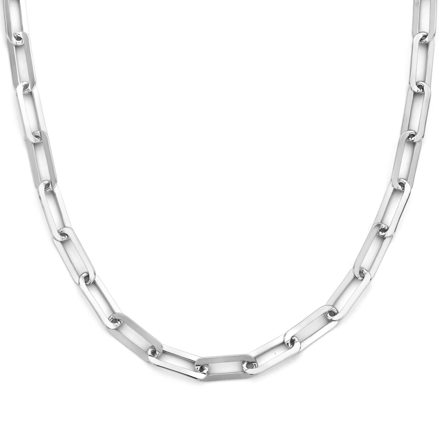 Selected Jewels Lizzy Juna 925 sterling zilveren ketting anker