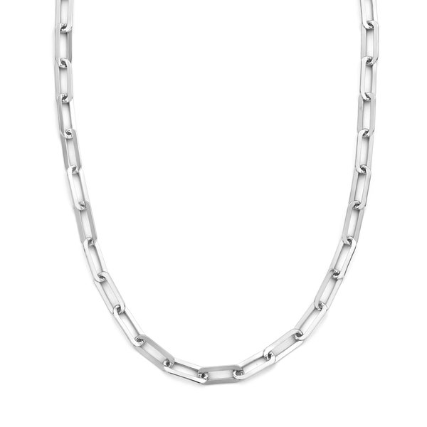 Selected Jewels Emma Jolie collana a maglie in argento sterling 925