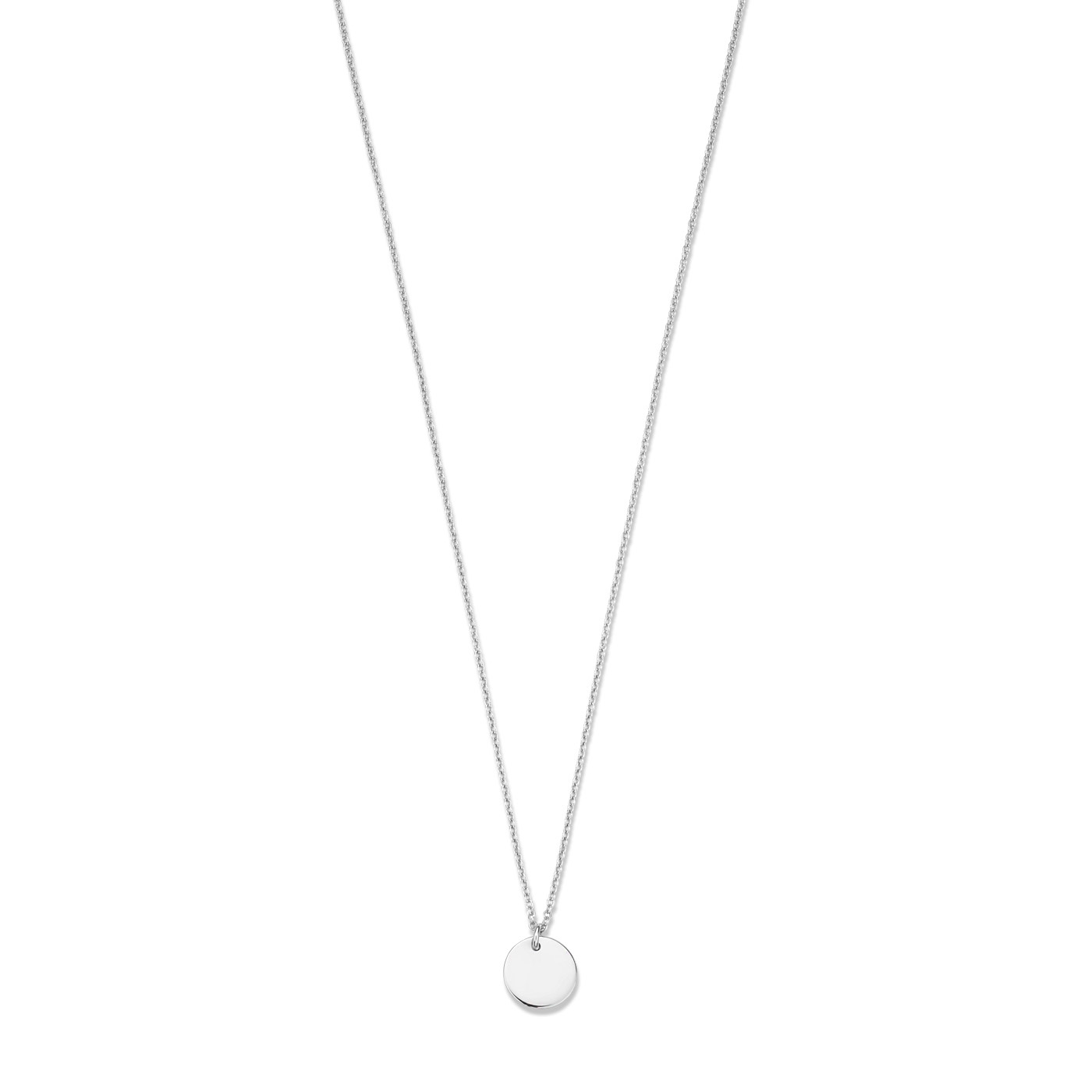 Selected Jewels Julie Belle 925 sterling zilveren ketting met muntje