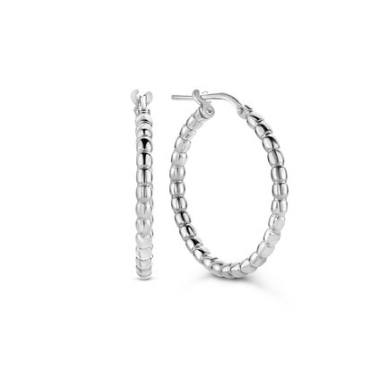 Selected Jewels Léna Manon creoler i 925 sterling silver