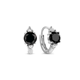 Selected Jewels Mila Sophie 925 sterling silver creoles