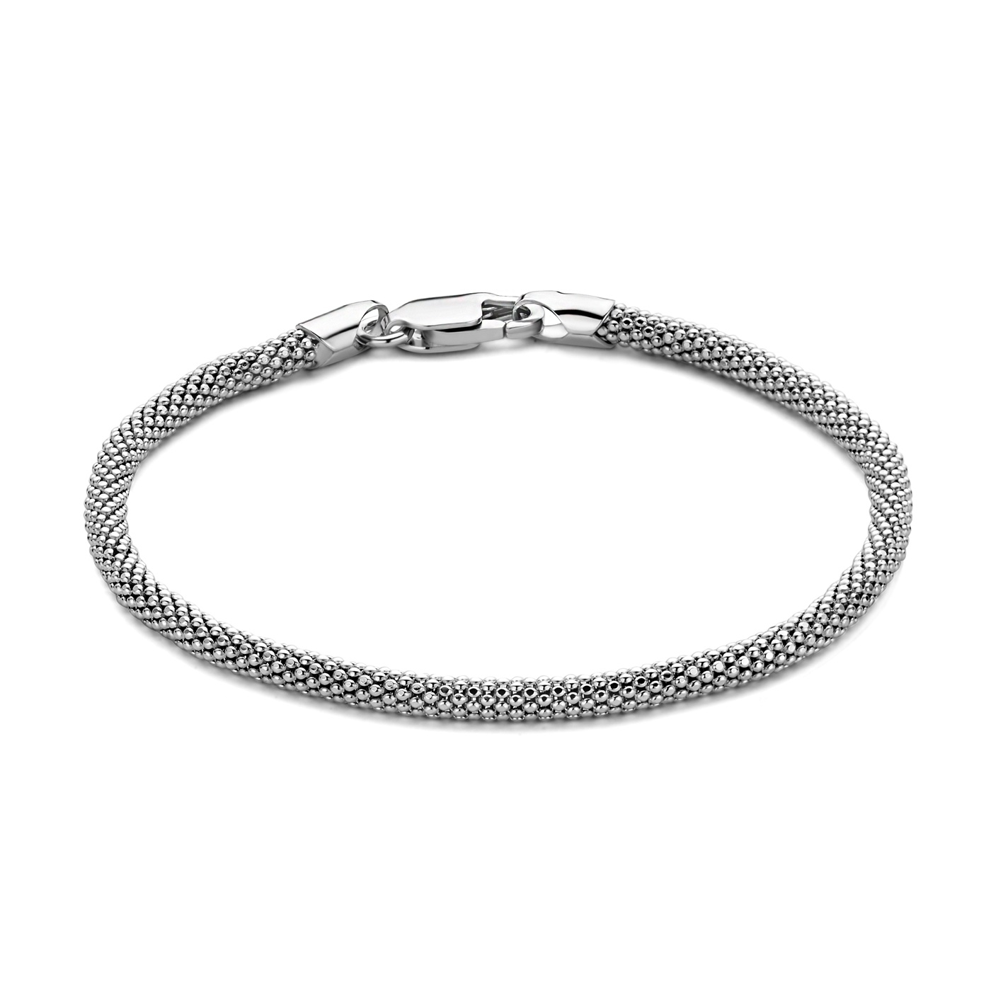 Selected Jewels Lina Mira 925 sterling zilveren armband breed