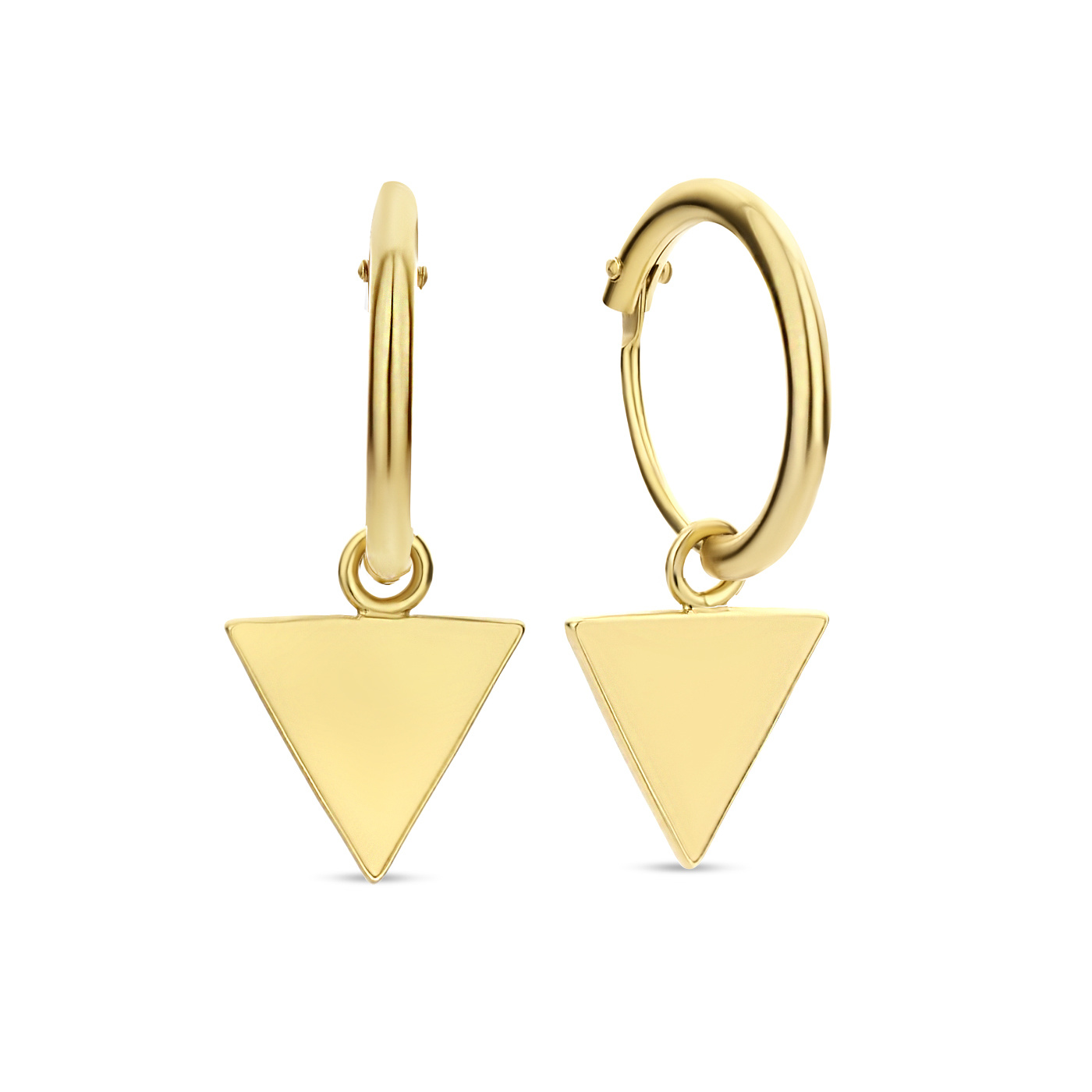Selected Jewels Mila Mare 925 sterling silver gold colored earparty