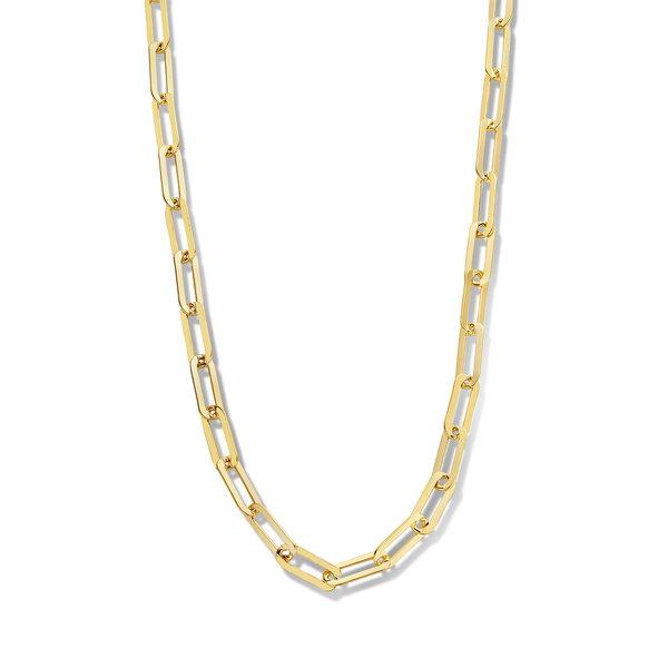 Selected Jewels Emma Jolie 925 sterling sølv guldfarvet halskæde