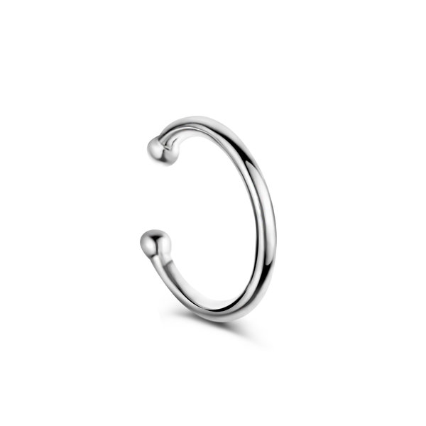 Selected Jewels Léna Joy ear cuff simple en argent sterling 925