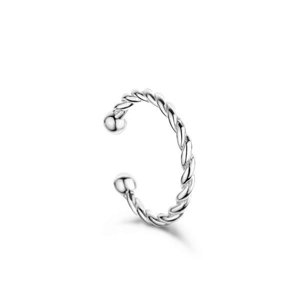 Selected Jewels Léna Joy 925 Sterling Silber einzelnes Ear Cuff