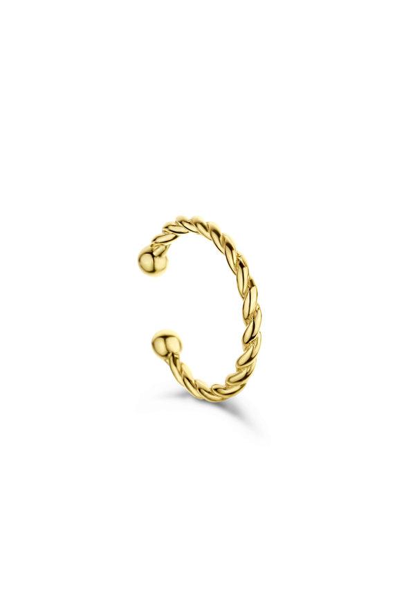 Selected Jewels Léna Joy 925 sterling zilveren goudkleurige ear cuff