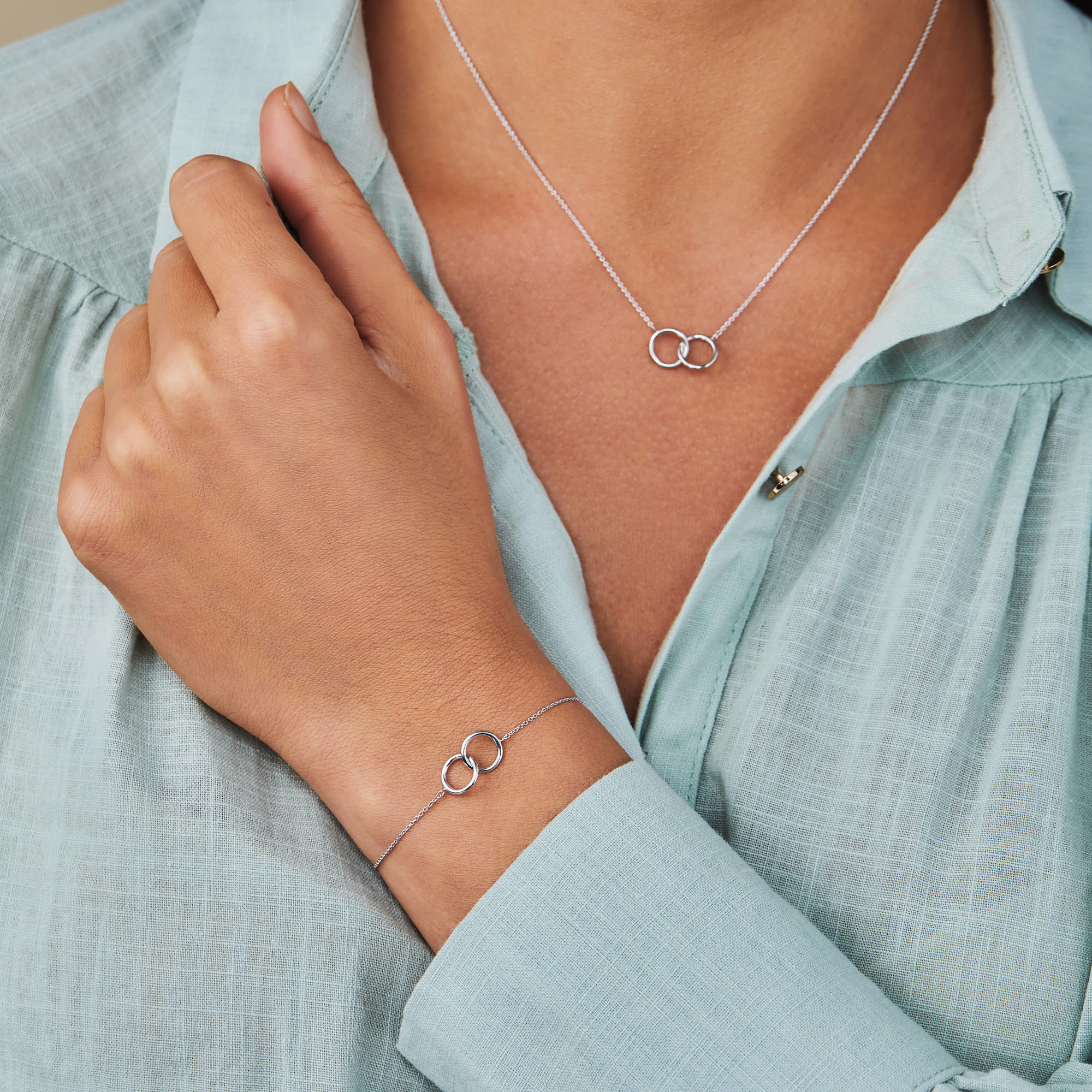 Selected Jewels Zoé 925 sterling sølv armbånd