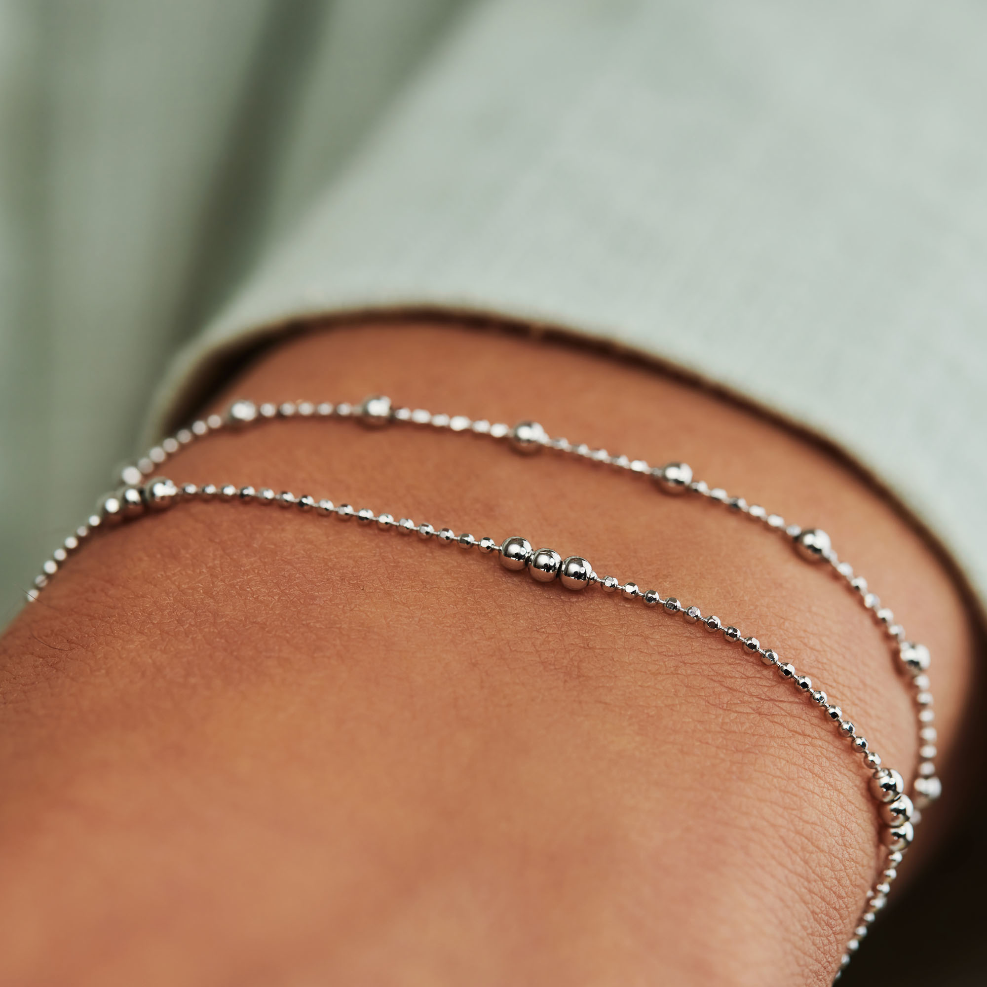 Selected Jewels Selected Gifts 925 Sterling Silber Satz Armbanden