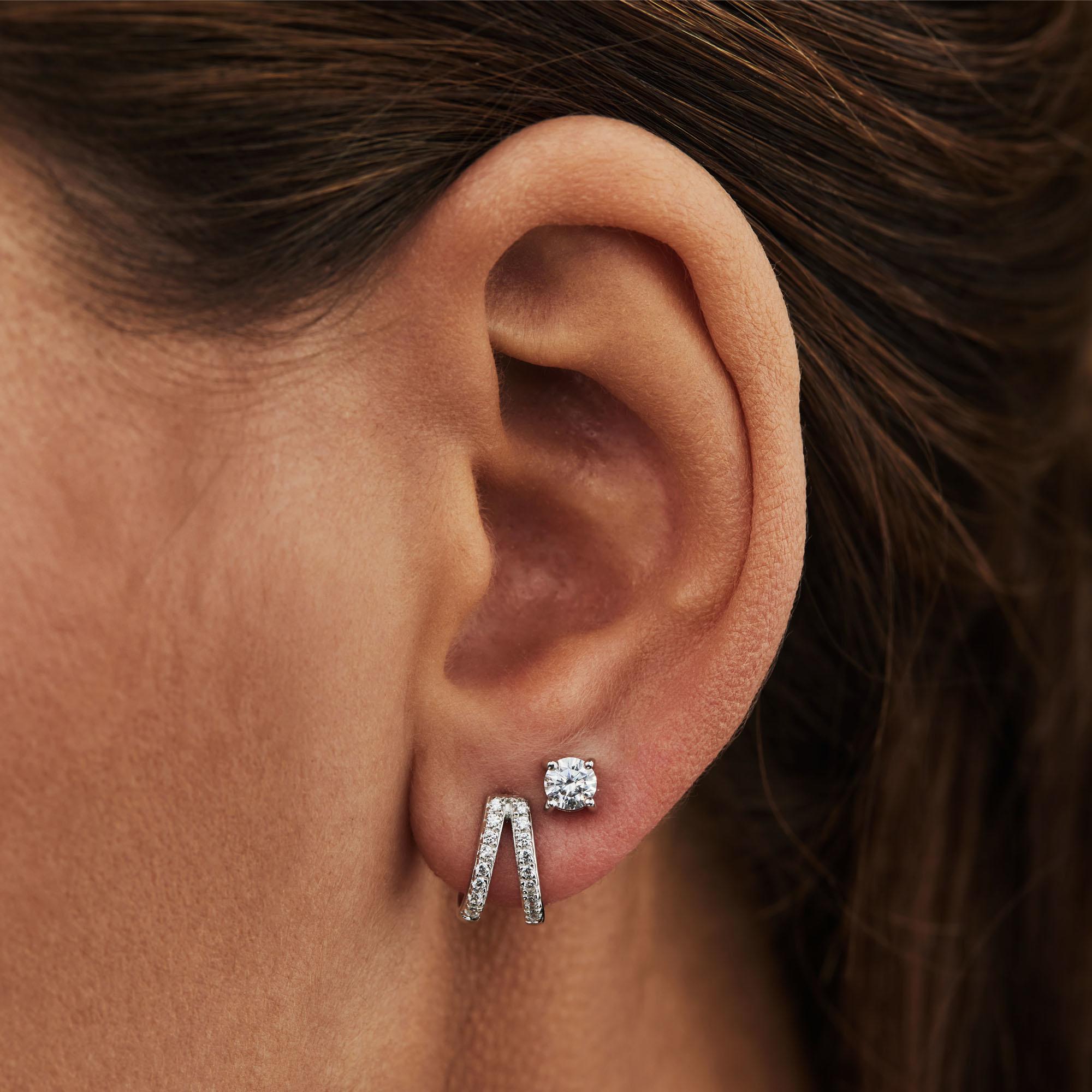 Selected Jewels Selected Gifts 925 sterling sølv sæt øreringe