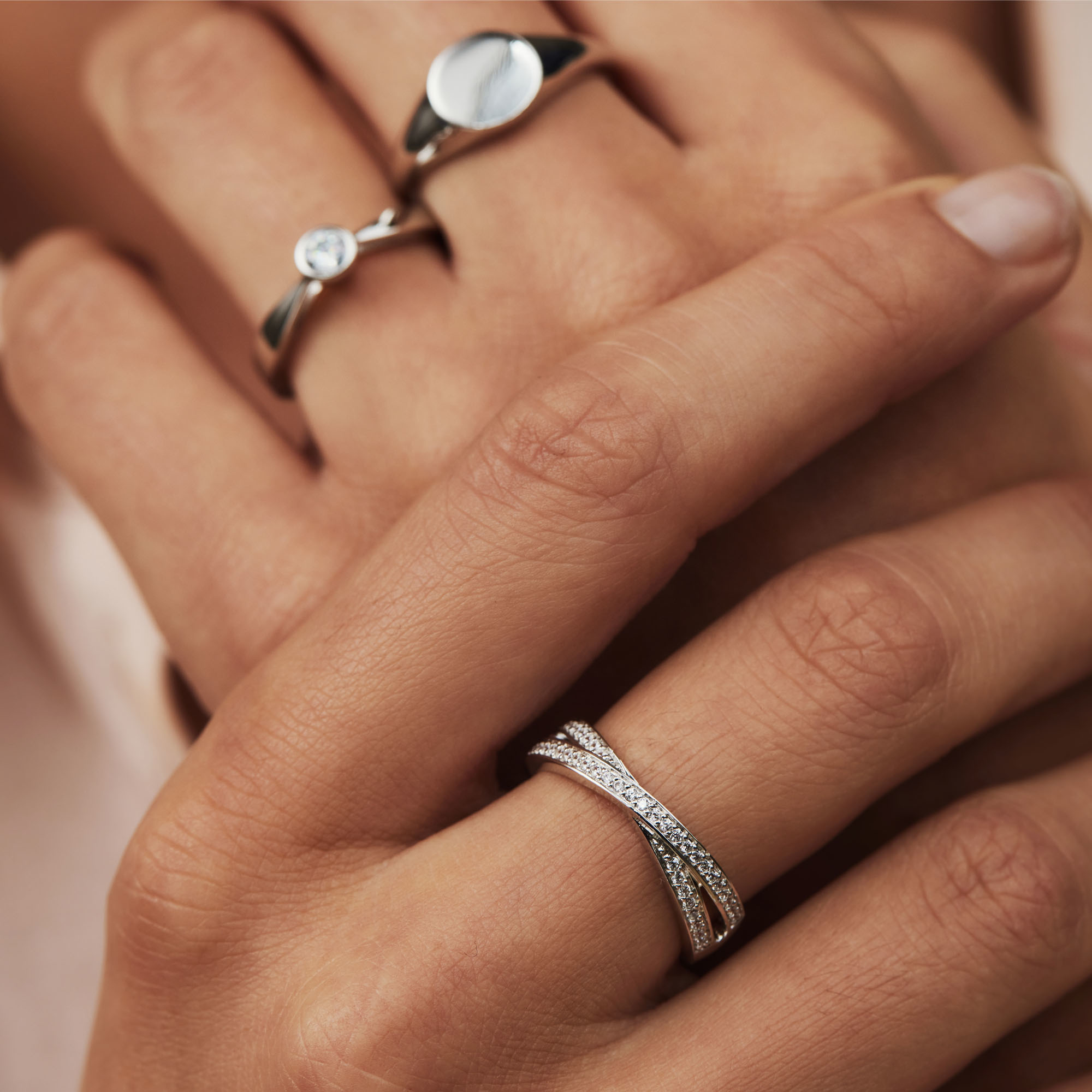 Selected Jewels Mila Elodie 925 Sterling Silber Ring