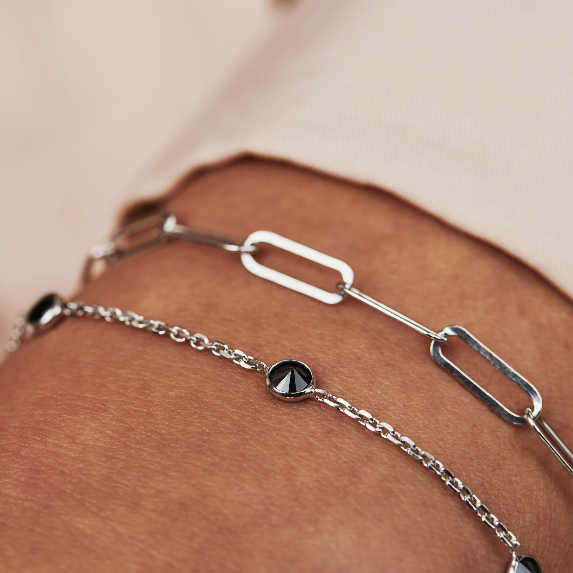 Selected Jewels Emma Jolie bracelet en argent sterling 925