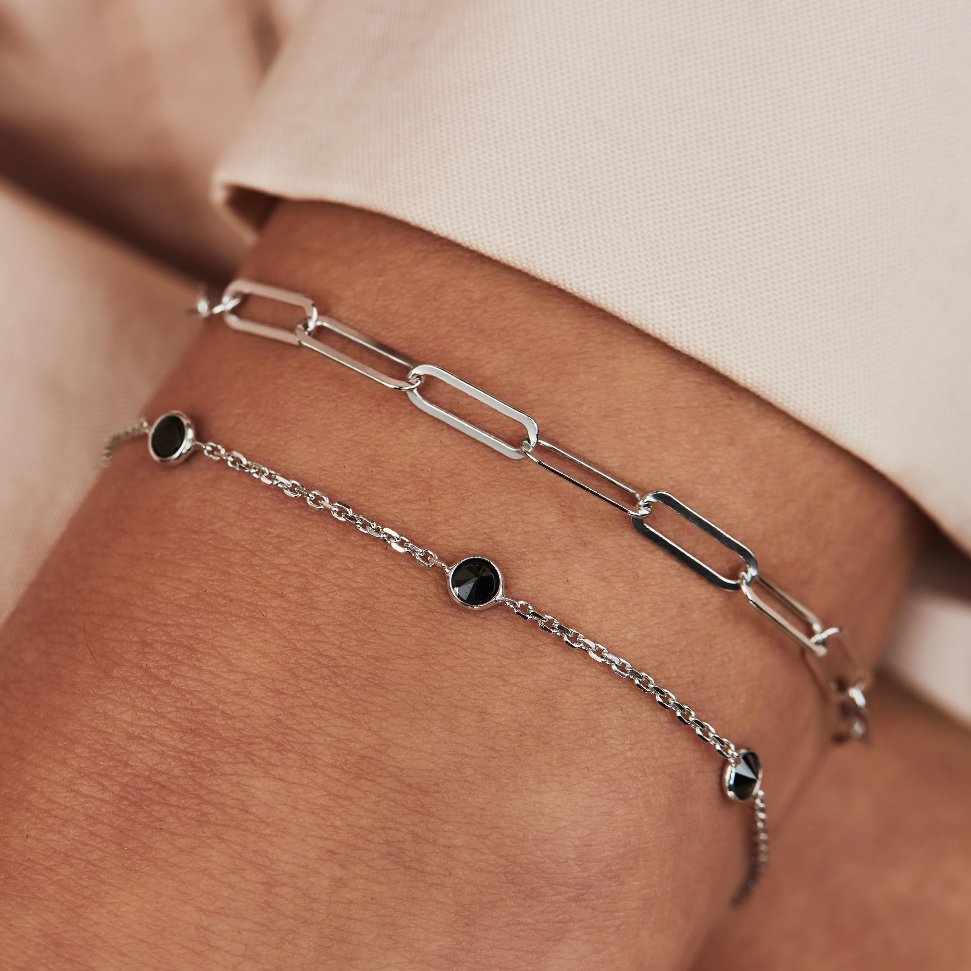 Selected Jewels Emma Jolie 925 Sterling Silber Armband
