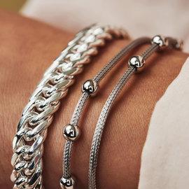Selected Jewels Léna Nina 925 sterling silver bracelet with spheres