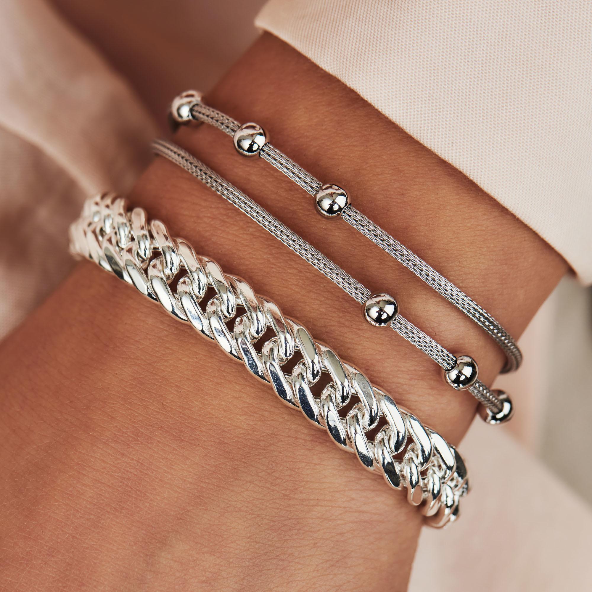 Selected Jewels Emma Vieve bracelet en argent sterling 925